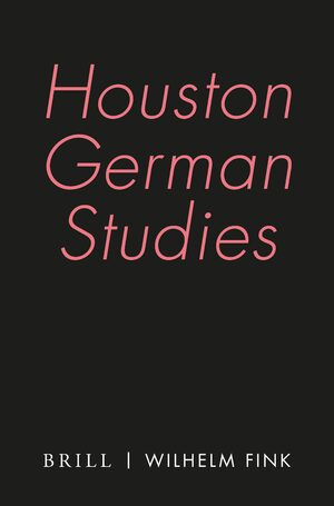 Cover Houston German Studies