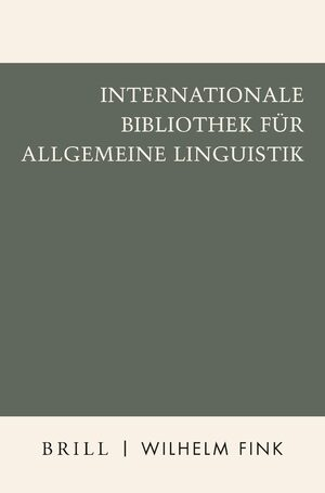 Cover Internationale Bibliothek für Allgemeine Linguistik