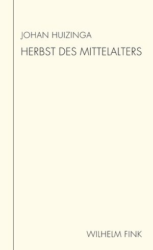 Cover Herbst des Mittelalters