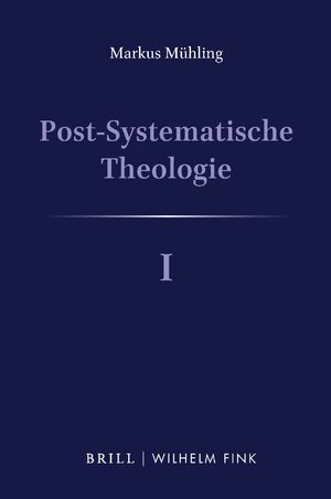 Cover Post-Systematische Theologie I