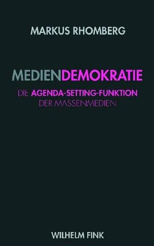 Cover Mediendemokratie