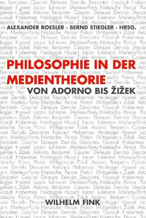 Cover Philosophie in der Medientheorie