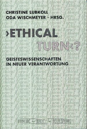 Cover 'Ethical Turn'?