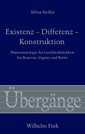Cover Existenz - Differenz - Konstruktion