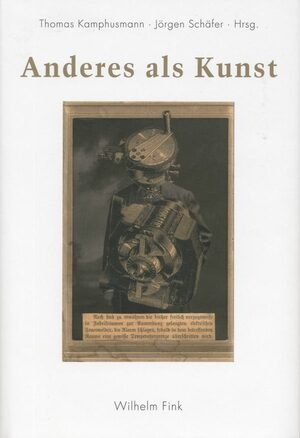 Cover Anderes als Kunst