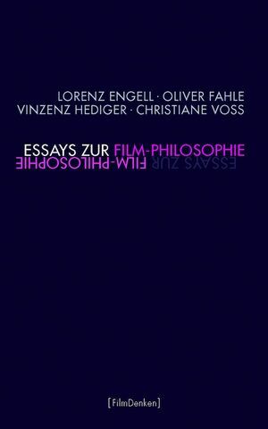 Cover Essays zur Film-Philosophie