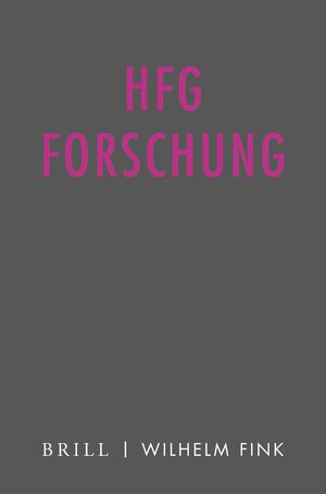 Cover HfG Forschung