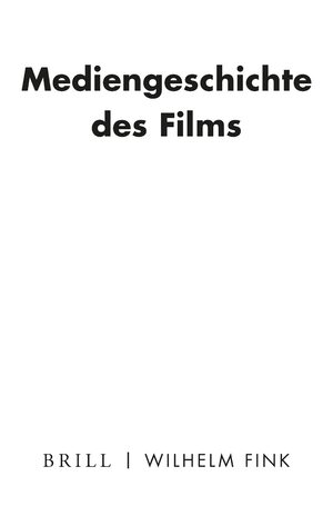 Cover Mediengeschichte des Films