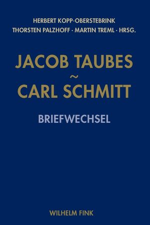 Cover Jacob Taubes - Carl Schmitt