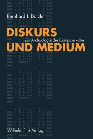Cover Diskurs und Medium I