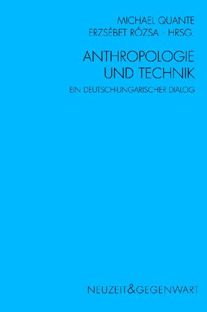 Cover Anthropologie und Technik