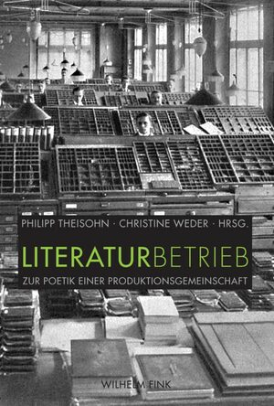 Cover Literaturbetrieb