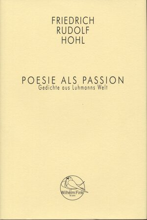 Cover Poesie als Passion
