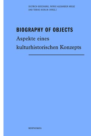 Cover Biography of Objects