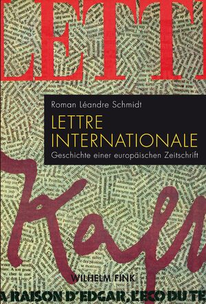 Cover Lettre internationale