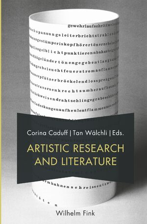 Cover Artistic Research and Literature