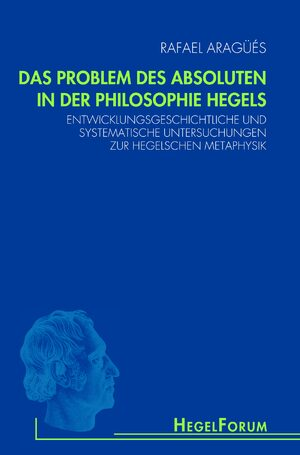 Cover Das Problem des Absoluten in der Philosophie Hegels