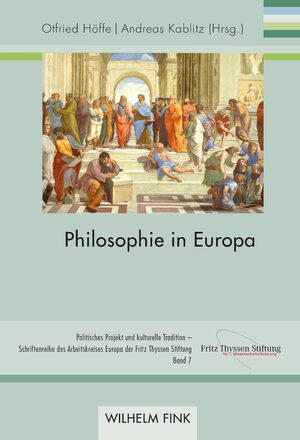 Cover Philosophie in Europa