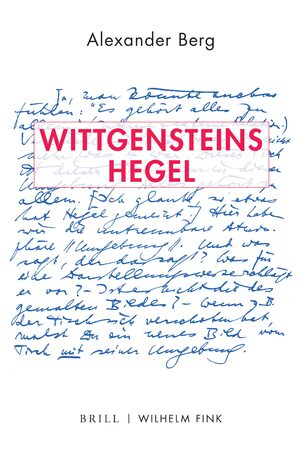 Cover Wittgensteins Hegel