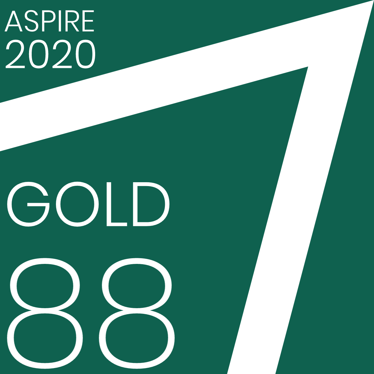 Brill Platform Aspire Badge: Gold 88